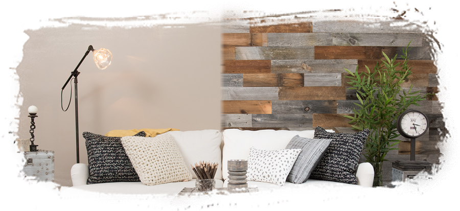 Accent Wall - Reclaimed Wood Package
